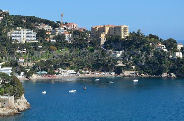 Mala beach in Cap d'Ail - France