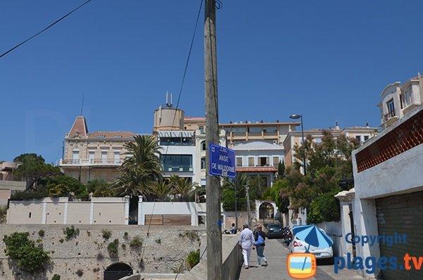 Quartier de l'anse de Maldormé- Marseille