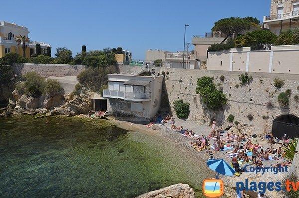 Spiaggia di Maldormé a Marsiglia