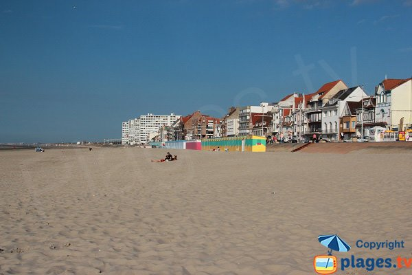 Photo of the Malo les Bains beach in France