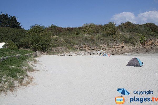 Environnement de la plage de la Manchette à St Jacut