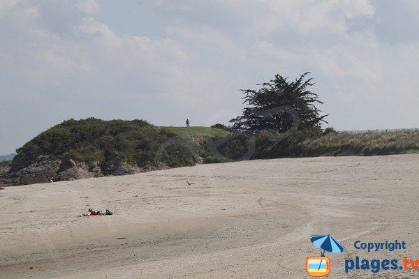 Falaises de la plage de la Manchette à St Jacut de la Mer