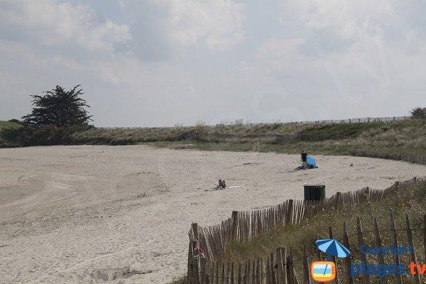 Camping à proximité de la plage de la Manchette à St Jacut de la Mer