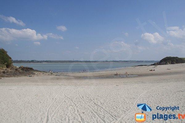 Photo de la plage de la Manchette à St Jacut de la Mer