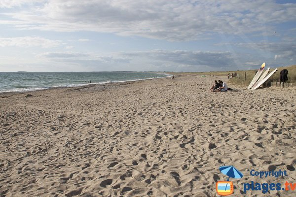 Plouharnel beach next to Quiberon
