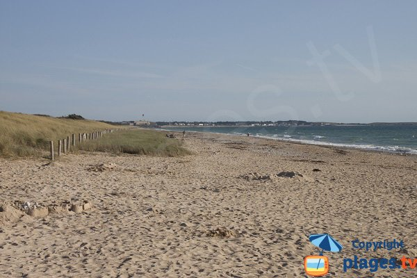 Photo of Mané Guen beach in Plouharnel - France