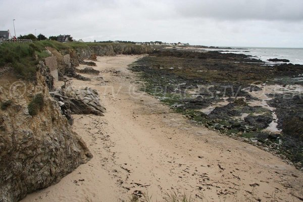 Photo de la crique de Manéric à Batz sur Mer