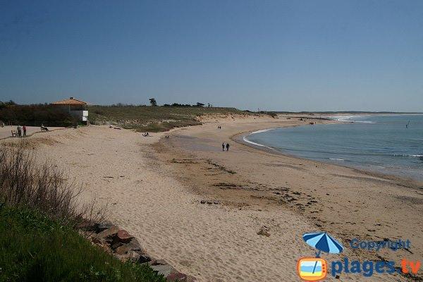 Photo de la plage du Marais de Girard à Brétignolles sur Mer