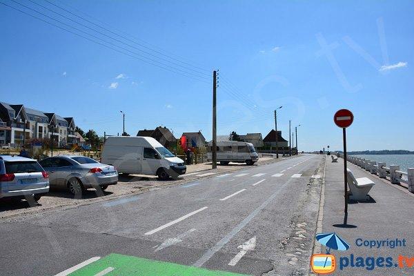Parking of Marais beach - Le Crotoy