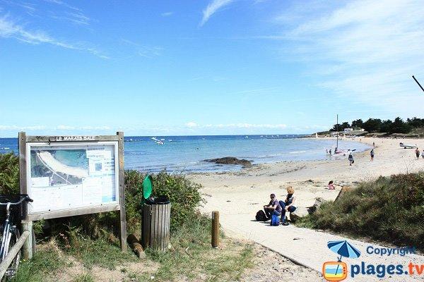 Photo de la plage du Marais Salé sur l'ile d'Yeu