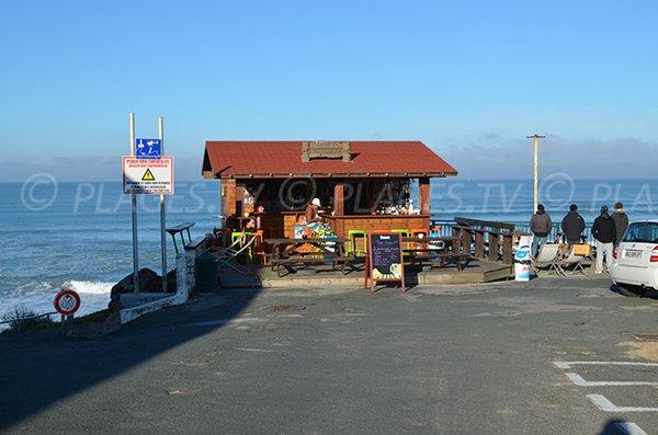 Restaurant on Marbella beach - Biarritz