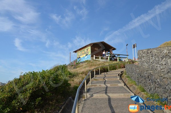 Access to Marbella beach - Biarritz