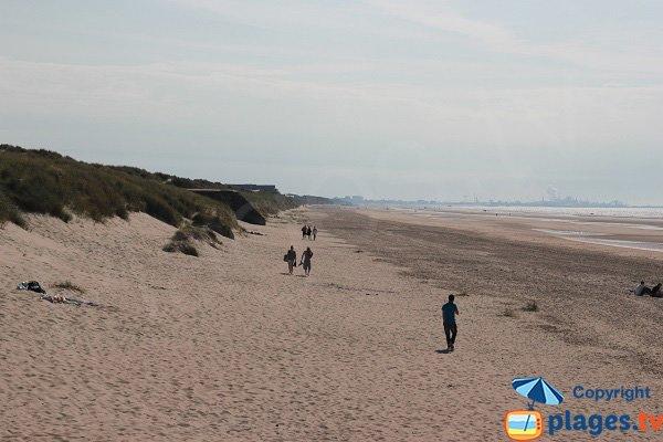 Photo de la plage de la dune du Marchand à Bray-Dunes