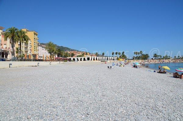 Photo of the Market beach of Menton