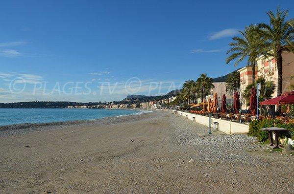 Spiaggia di Mentone - natale