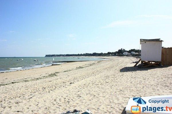 Chalets sur la plage de Mardi Gras - Noirmoutier