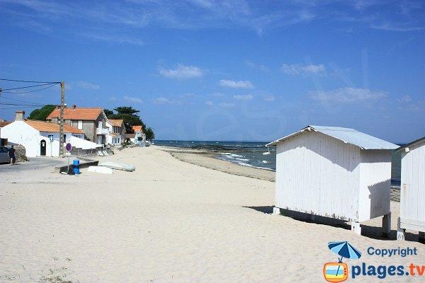 Photo de la plage de Mardi Gras de Noirmoutier