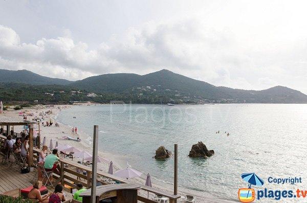 View from Mare e Sole hut - Corsica