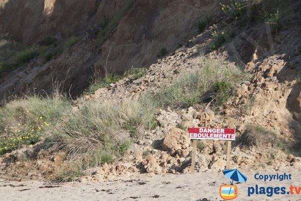 Falaises de la plage de la Mare - Saint Cast