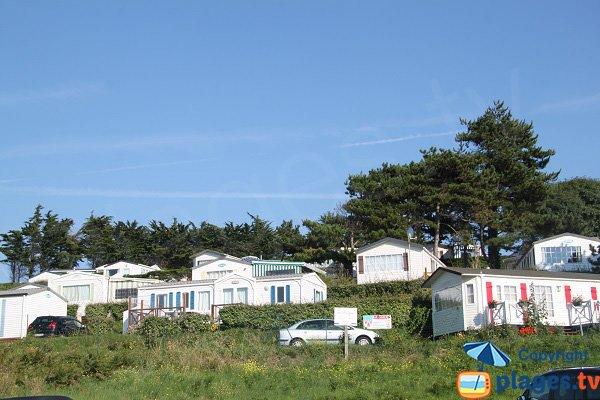 Camping sur la plage de la Mare - St Cast Guildo