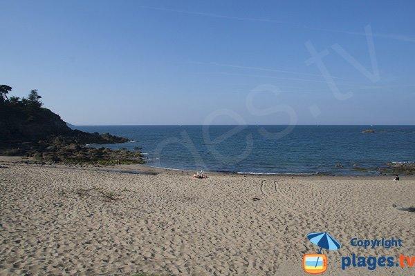 Photo de la plage de la Mare à Saint Cast Guildo