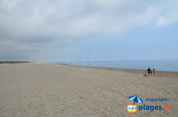 Photo of Marenda beach in Argeles next to Elne