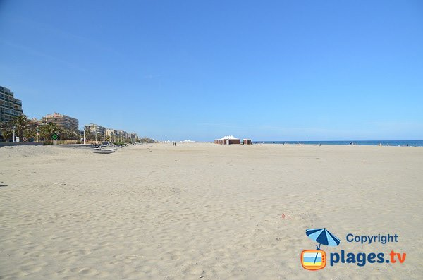 Photo of Marenda beach in Canet-Plage in France