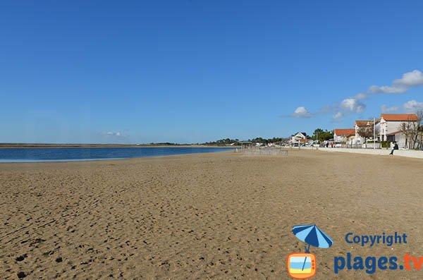 Marennes seaside at the basin level