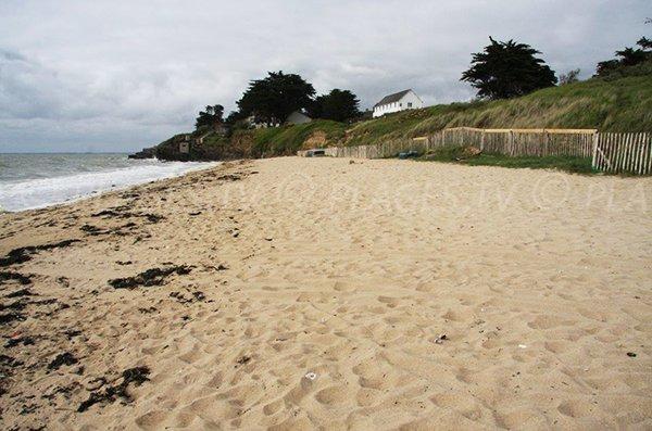 Photo de la plage de Maresclé à Pénestin (56)