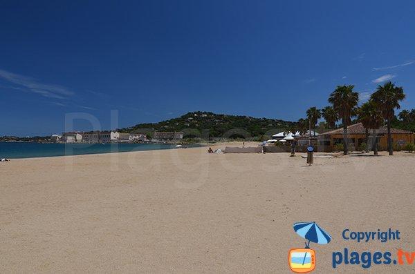 Marina of Cogolin beach - France