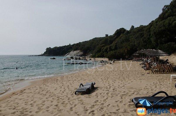 Zona destra della spiaggia Marinca - Corsica
