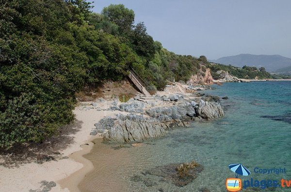 Photo of Marinca cove in Olmeto - Corsica