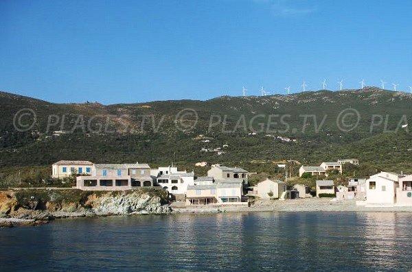 Photo de la marine de Mute dans le Cap Corse