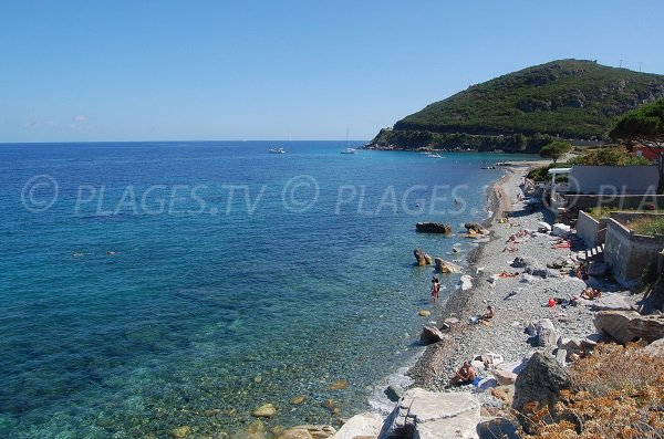 Beach near the Sisco port - Corsica