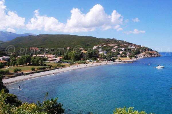 Photo of Sisco beach in Corsica