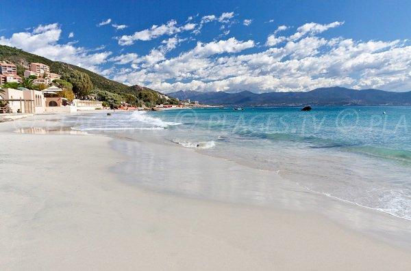 Spiaggia di Marinella a Ajaccio - Corsica