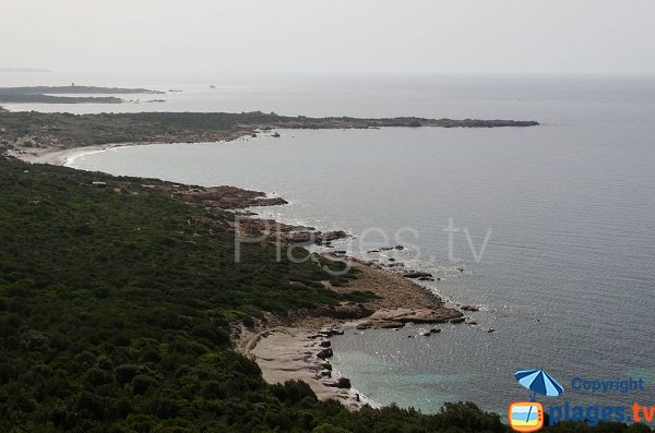 Foto della spiaggia di Mariola in Corsica