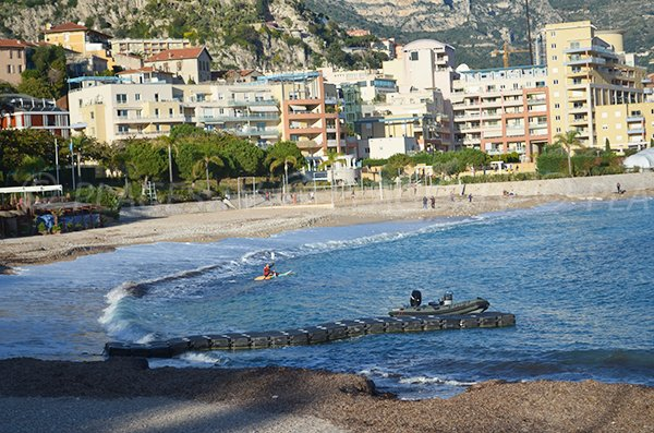 Kayaking on the Marquet beach