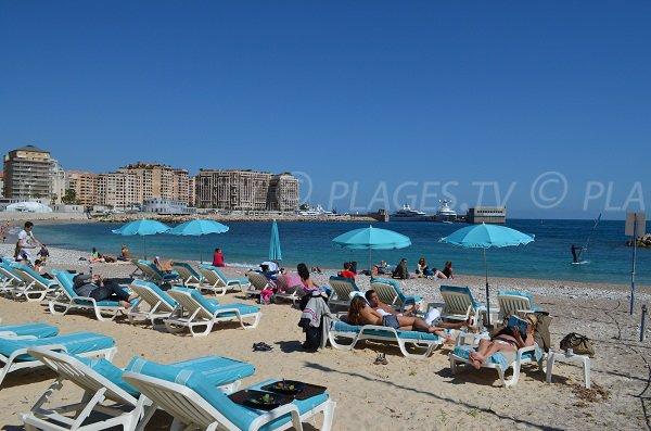 Private beach in Cap d'Ail - Marquet