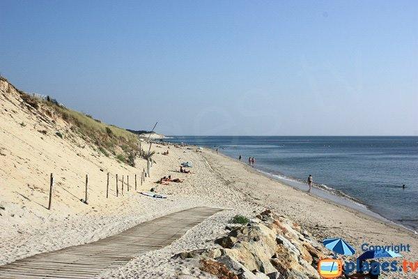 Photo de la plage de la Martinière - L'Epine - Noirmoutier