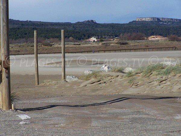 parcheggi gratuiti della spiaggia Mateille