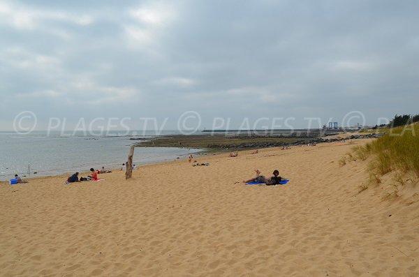 Photo de la plage à côté du port de la Cotinière - Oléron