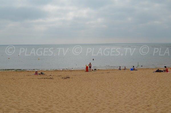 Zone de baignade de la plage de Matha - Oléron