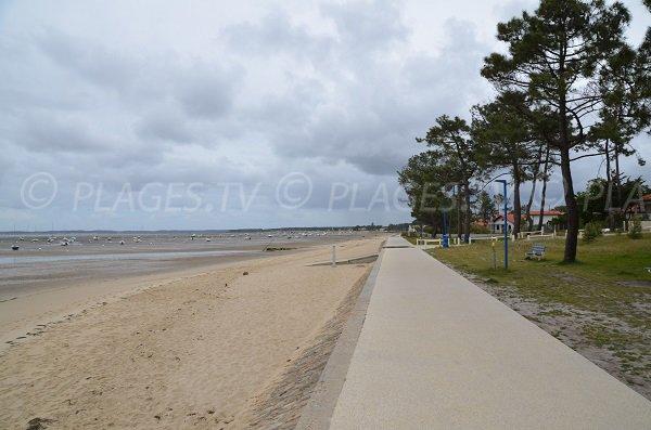 Photo de la plage du Mauret à Andernos les Bains