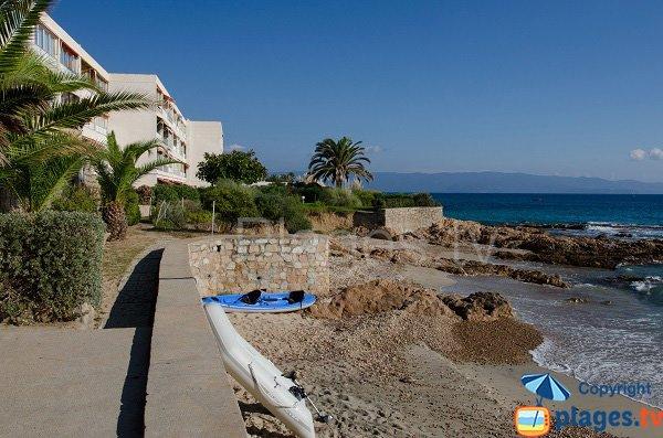 Photo de la plage Maxime à Ajaccio