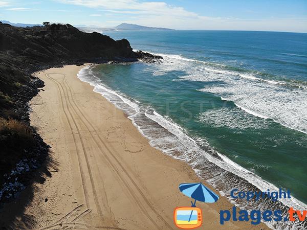 Photo de la plage de Mayarco à Saint Jean de Luz