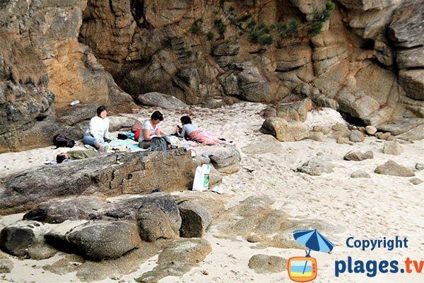 Crique protégée à Fouesnant - Mec'hed Yaouank