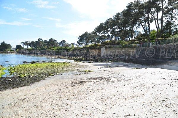 Men Allen beach in La Trinité sur Mer - France
