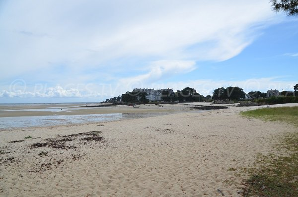 View on Carnac from Men Du beach