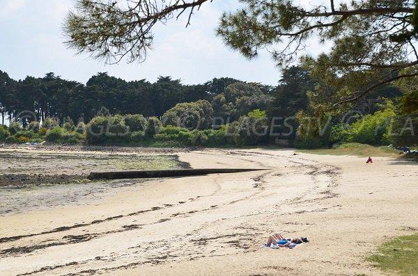Photo de la plage de Men er Beleg à St Philibert
